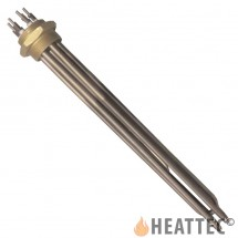 Immersion Heater Stainless Steel with 3 U-shaped Ø8 elements