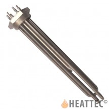 Immersion Heater 2''1/2 BSP with 3 S/S U-shaped Ø12,5 elements