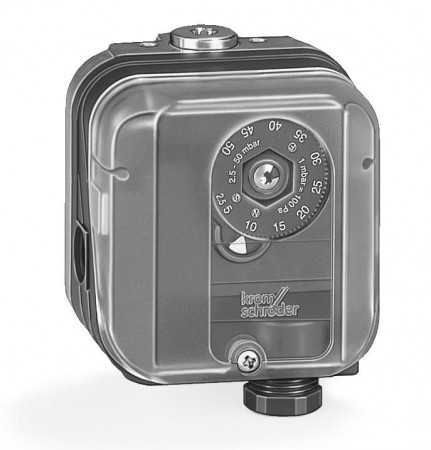 Kromschroder pressure switch, DG 150U-3