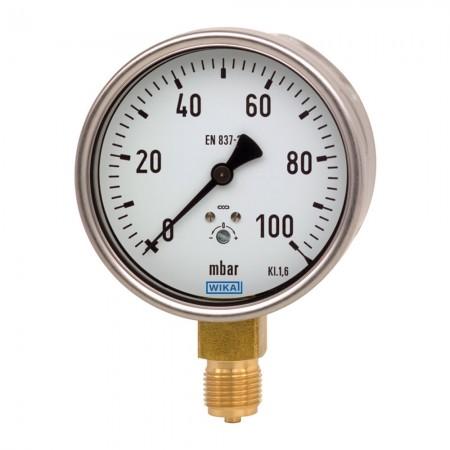 Pressure gauge KM